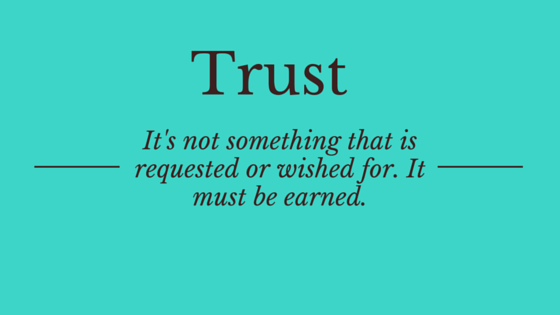 Great Managers Earn Trust